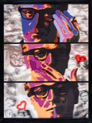 my-name-is- by Dan Pearce - Mixed Media Lenticular sized 29x39 inches. Available from Whitewall Galleries